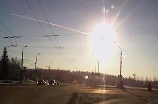 Chelyabinsk meteor. © 2013 Alexandr Ivanov