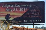 Harold Camping's January 2010 Solano Avenue, Berkeley, Billboard
